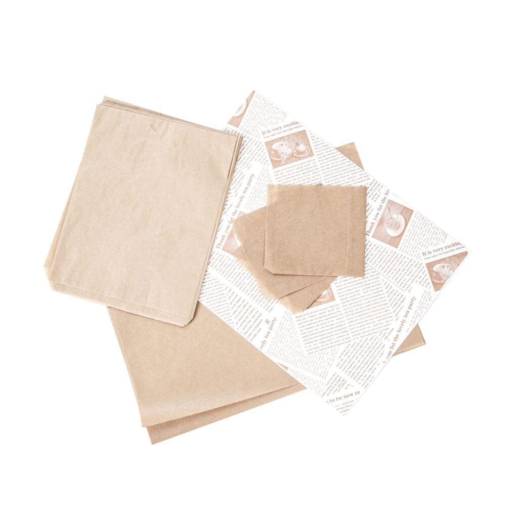 Wrapping papir burgerlommer