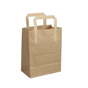 Bærepose med hank 4,3 liter 18x10,5x23 cm