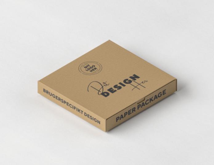 Pizza boks med eget tryk