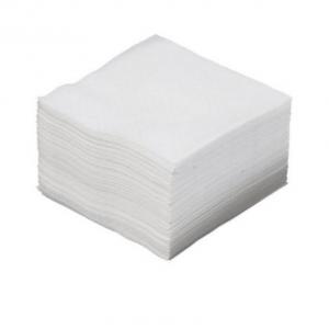 Middagsserviet 40x40 cm 100% nyfiber hvid