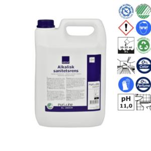 Sanitetsrengøring alkalisk/affedtende 5 Liter