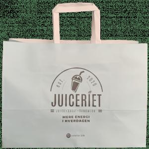 Juiceriet, FSC Papirspose, 33x17x24 cm, 100gsm