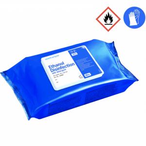 Wet wipe overfladedesinfektion 30x20 cm
