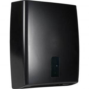 Dispenser, Black Classic Recycled, Midi, 12,5x31x39cm, plast, alle typer håndklædeark