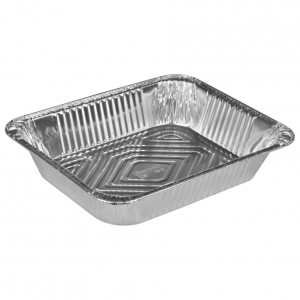 Gastronorm bakke, 32,2x26,2x6,4cm, aluminium, 3600 ml, rektangulær, 1/2 GN