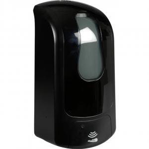 Håndfri dispenser, 1000 ml, sort, til påfyldning