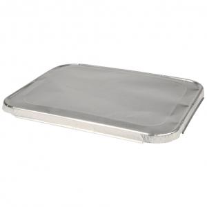 Låg, 32,5x26,5x1,5cm, aluminium, til 1/2 Gastronorm alubakke